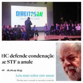"""Democracia com Lula preso não existe, diz Nassif. Sobre a tal Frente """"DireitosJá"""""""