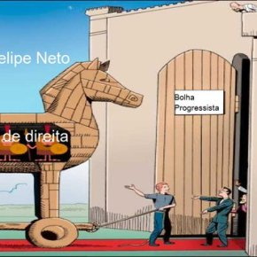 Felipe Neto e a ingenuidade da esquerda sobre a guerrahibrida