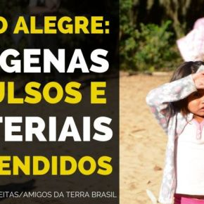 Porto Alegre: indígenas expulsos e materiais apreendidos —Vídeo