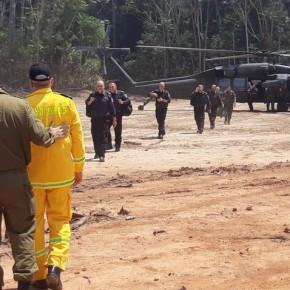 Muito estranho: Israelenses vão embora de Rondônia 4 dias após chegarem  para controlarincêndios