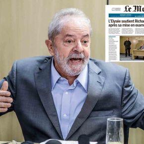 """Lula na Capa do Le Monde Francês: """"Bolsonaro é resultado da negação daPolítica"""""""