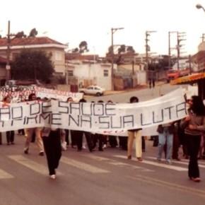 Donas de casa protagonizaram a luta que levou à criação doSUS