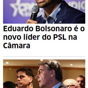 """As trevas saem das entrelinhas e avançam sobre o que resta de política: Sobre a """"liderança"""" de EduardoBolsonaro"""