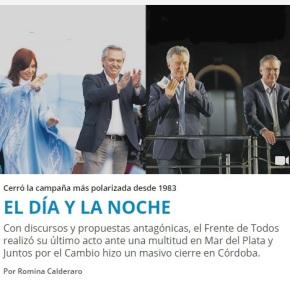 Macri, desesperado, faz apelo a Deus, e Frente de Todos promete fim do ciclo neoliberaldesonroso