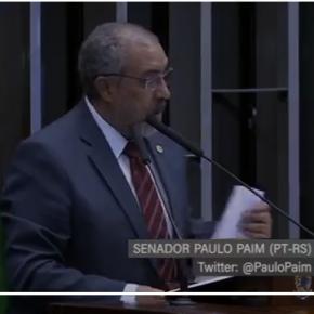 Paim alerta sobre 700 mil portoalegrenses que podem perder atendimento da Saúde pública nos próximos dias(Video)