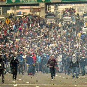 Protestos no Equador contra presidente apoiado por Bolsonaro, se transformam em tsunami(Vídeos)