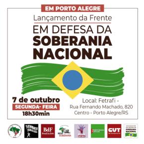 COM PROJETO SOBERANO, O BRASIL PODE SER UMA POTÊNCIAMUNDIAL