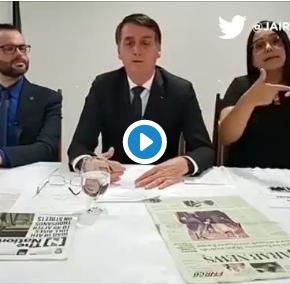 """Bolsonaro ataca Prefeito de Rio Grande e ameaça servidores de """"cortar suas cabeças"""" (Assista ovídeo)"""
