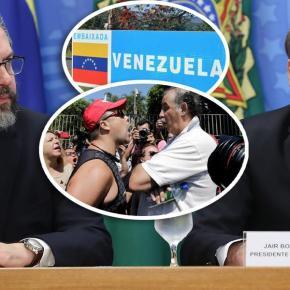 Representante do Itamaraty está entre os invasores da embaixada da Venezuela e tenta legitimaragressão