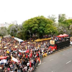 A responsabilidade pelo massacre na Praça da Matriz é do governador EduardoLeite