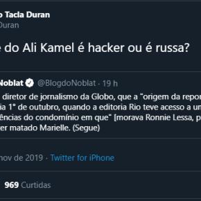 Tacla Durán insinua que fonte de Ali Kamel, da Globo, é SérgioMoro