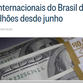 GUEDES QUER ENTREGAR MAIS DE R$ 1 TRILHÃO DE RESERVAS INTERNACIONAIS DO BRASIL ABANQUEIROS