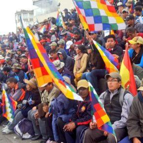 O que acontece na Bolívia é luta de classes, nãoidentitarismo
