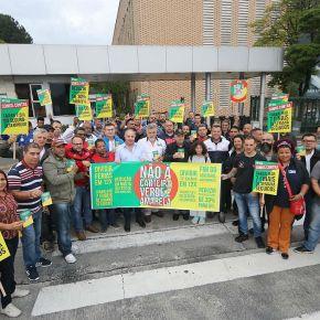 Trabalhadores alertam população dos riscos da carteira de trabalho verde-amarela: 'Governomente'