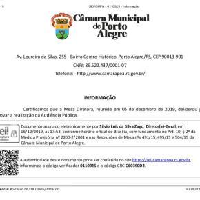 'Escola Sem Partido em Porto Alegre': no apagar das luzes, não! Nota de Repúdio da Associação de Mães e Pais pelaDemocracia