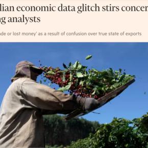 Financial Times  levanta dúvidas sobre confiabilidade de dados econômicos doBrasil