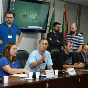 Audiência pública encaminha reforço à luta contra PEC que retira plebiscito para vender Banrisul, Procergs eCorsan