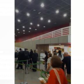 Enquanto professores apanhavam da BM, Governador do RS a passeio toma escracho em Aeroporto(Vídeo)