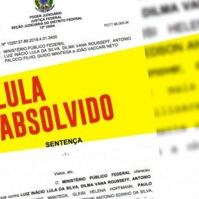 Juiz imparcial absolve Lula: cai a farsa do 'quadrilhão'. leia decisão naíntegra