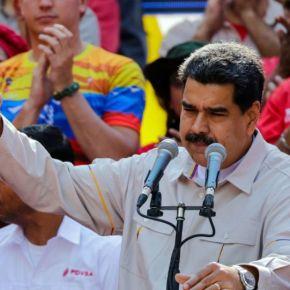 Maduro diz que armas roubadas das Forças Armadas da Venezuela por terroristas, estão noBrasil