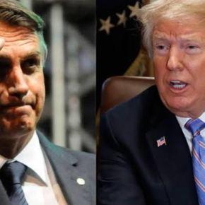 Trump trata Bolsonaro como o cãozinho adestrado que obedece ordens dodono