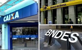 Enquanto nazismo bolsonarista desvia atenção, Guedes despedaça CAIXA,BB e BNDES e vende baratinho, empedaços