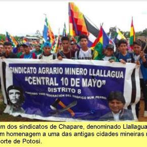 Chapare, território livre da Bolívia, expulsou o regime golpista – É de recear uma retaliaçãosangrenta