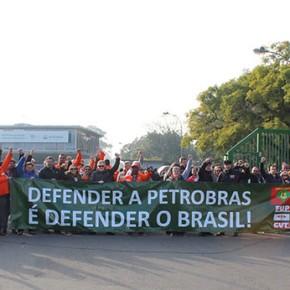 Com possibilidade da PETROBRAS sair do Rio Grande, se amplia apoio a Greve dos Petroleiros naREFAP
