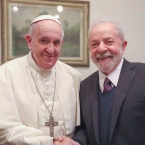 Lula fala sobre o seu encontro com o Papa Francisco(Vídeo)