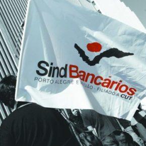 Nesta Quinta em Porto Alegre, Bancários vão trabalhar de Preto no BB e na Caixa, contra o desmonte e aprivatização