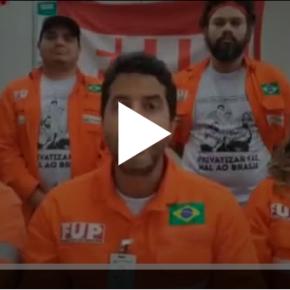 Em vídeo Petroleiros em greve avisam: Vai faltar combustível no país por causa da intransigência doGoverno
