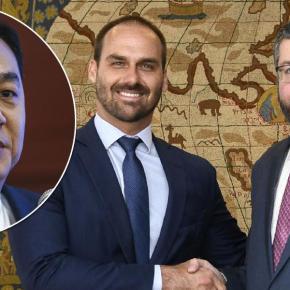 Ernesto Araújo compra a guerra de Eduardo Bolsonaro contra a China e coloca em risco a economiabrasileira