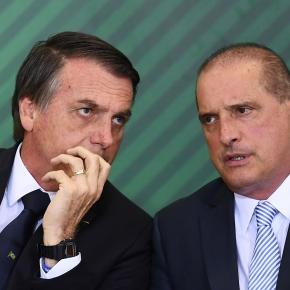 Segundo a Folha, Onix Lorenzoni e Generais estiveram presentes em reunião que preparou a fala criminosa deBolsonaro