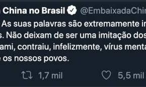Conflito com a China expõe a irresponsabilidade invencível dos Bolsonaro (Por LuisNassif)