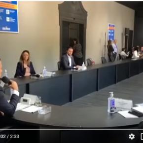 Em ataque a Dória, Bolsonaro fala em eleições e não fala de Corona Vírus em reunião com Governadores do Sudeste(VÍDEO)