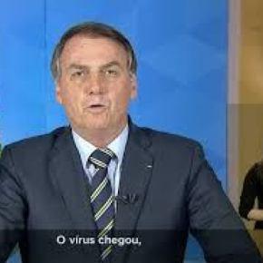 Bolsonaro foi à guerra contra o coronavírus pelas manchetes dos jornais (Por CarlosWagner)