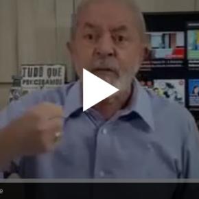 Em vídeo, Lula diz o que fazer diante do Corona Vírus: Proteger a Saúde do Povo em 1º Lugar!!Assista: