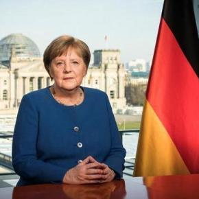 O apelo inédito de Merkel devido aocoronavírus