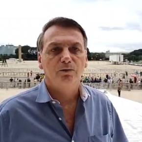 Bolsonaro incentiva apoiadores a saírem daquarentena