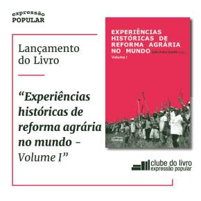 Dirigente do MST, lança livro sobre Reforma Agraria e propõe que no Brasil ela seja baseada naAgroecologia