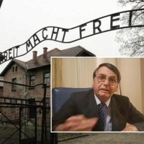 """""""Arbeit macht frei""""? Quem trata nazifascismo com declarações sobre democracia, será responsabilizado pela tragédia noBrasil"""