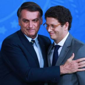"""Ricardo Salles aproveita pandemia e """"passa boiada"""" no ProjetoTamar"""