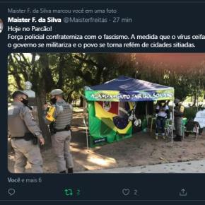 "O que é isto? Seria destas ""armas da democracia"" que Bolsonaro fala?Assustador!!!"
