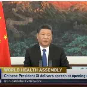 Discurso do presidente Xi Jinping, da China, na abertura da 73ª Assembleia Mundial daSaúde