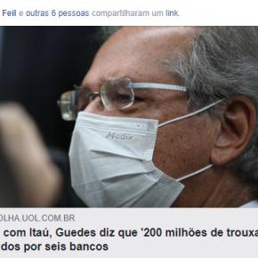 Em ato falho, Guedes  delata seus cúmplices na exploração contra opovo