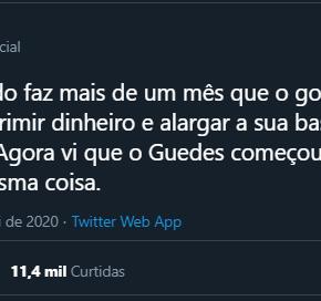 Lula em uma frase mostra como salvar o Brasil e o emprego dos brasileiros diante da pandemia e deBolsonaro