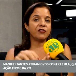 """Quando chocava o ovo do fascismo, Vera Magalhães disse que """"pedrada em comício é da política""""(Vídeo)"""