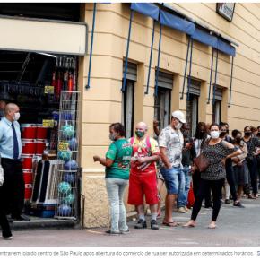 Estender o auxílio emergencial atenuaria a derrocada do PIBbrasileiro