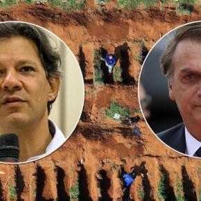 Haddad: 'Se os governadores são os responsáveis pelas mortes, por que Bolsonaro esconde osdados?'