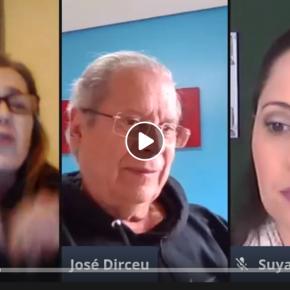 Zé Dirceu: Já vivemos um governo militar, com inspetoria das PMs ativa e ditadura construída por dentro(Vídeo)